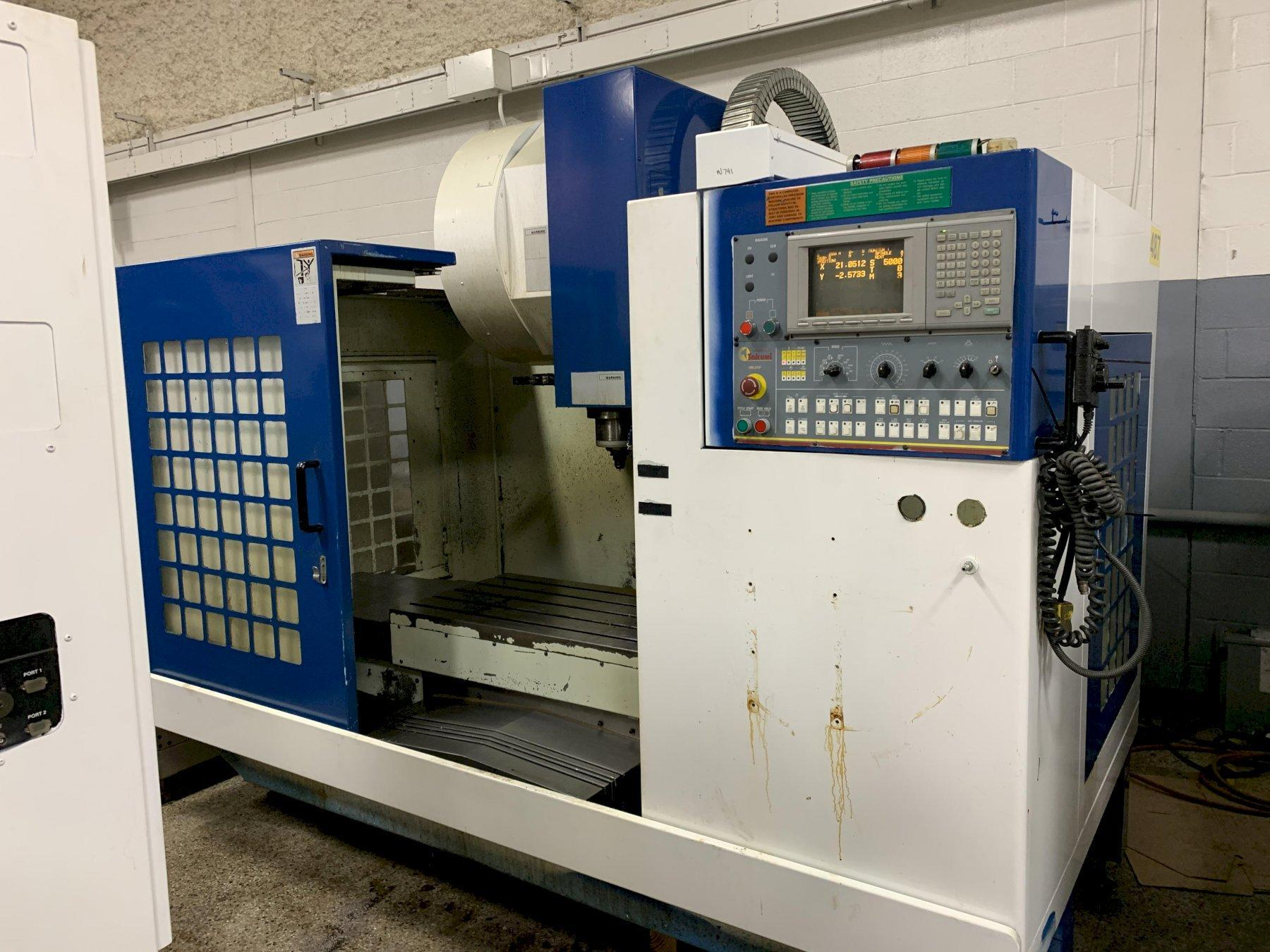 Takumi Model V10A CNC Vertical Machining Center, New 99 - reduced