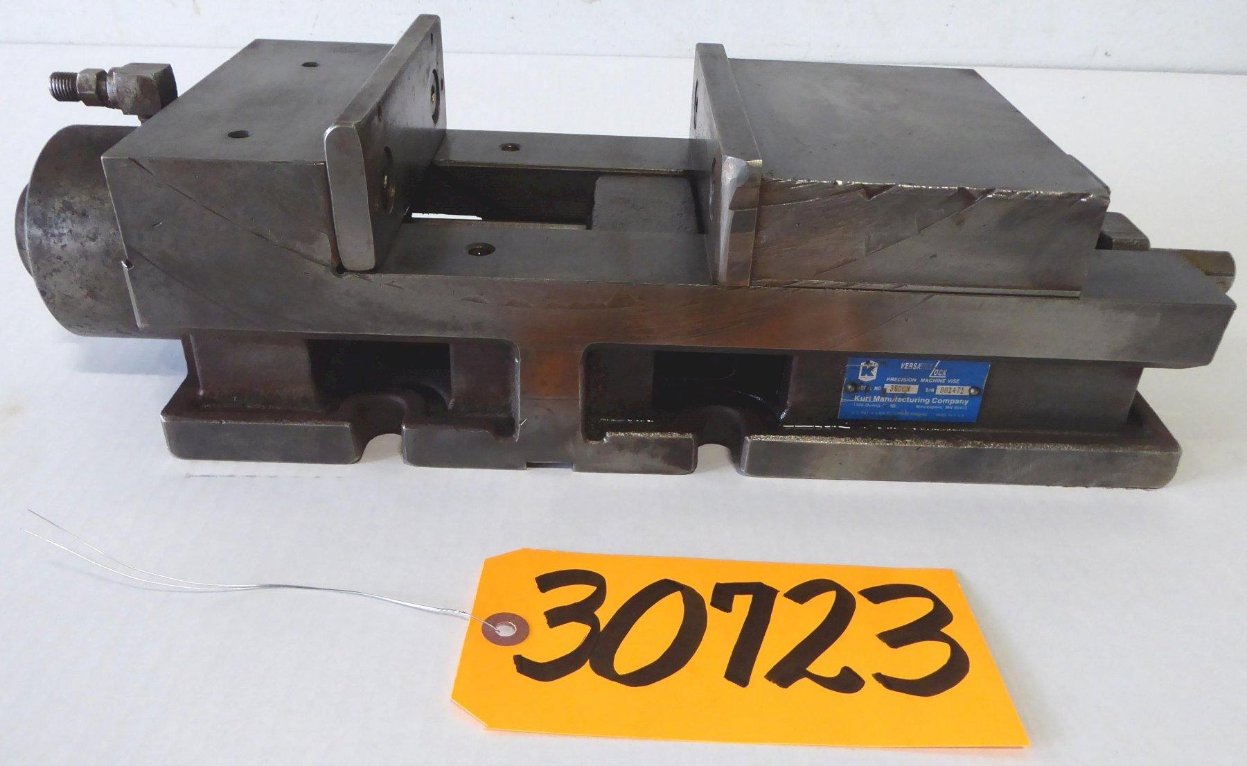 6″ Kurt Hydraulic Versatile Lock Vise No. 3600H