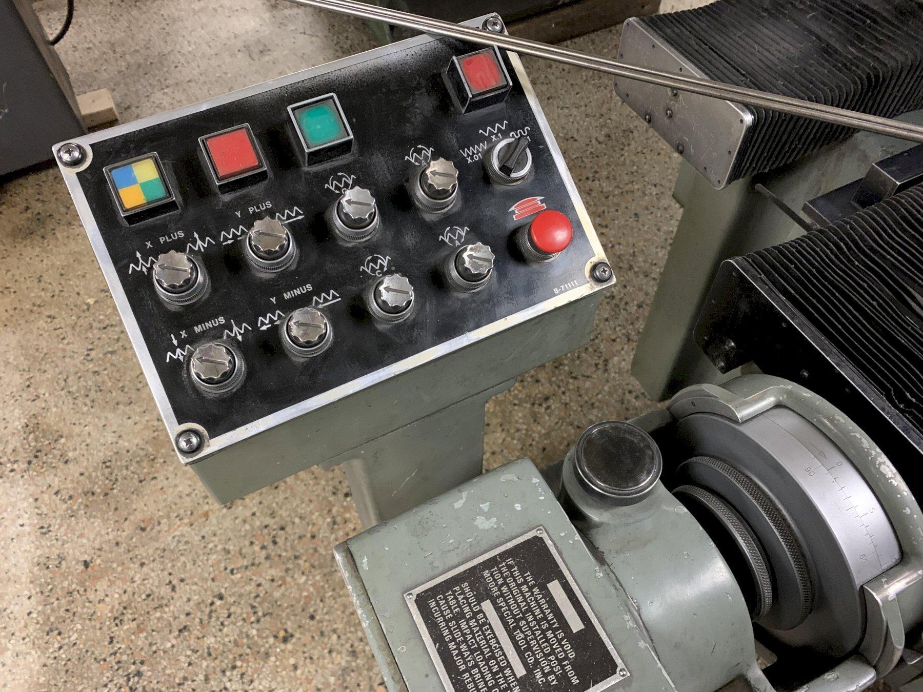 Moore Model G18 1050 Jig Grinder, S/N G3625