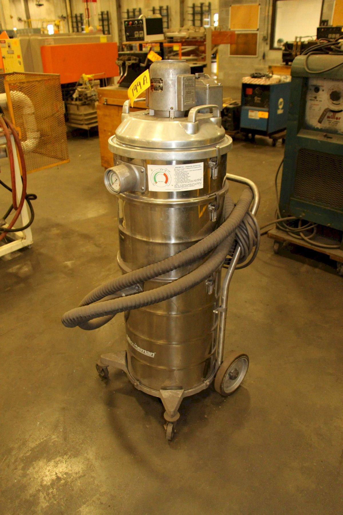 15 GALLON MINUTEMAN MODEL C88015-04 WET/DRY EXPLOSION PROOF VACUUM: STO