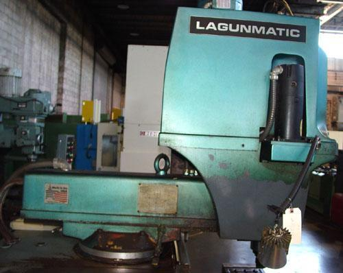 """Lagun Lagunmatic 310, Delta Dynapath 10 CNC Control, X=31"""", Y=15"""", Z=16"""", 10"""" x 50"""" Tbl, 4250 RPM, 1990."""