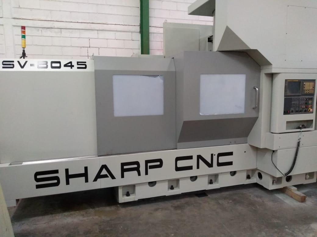 2007 SHARP SHARP SV-8045 - Vertical Machining Center