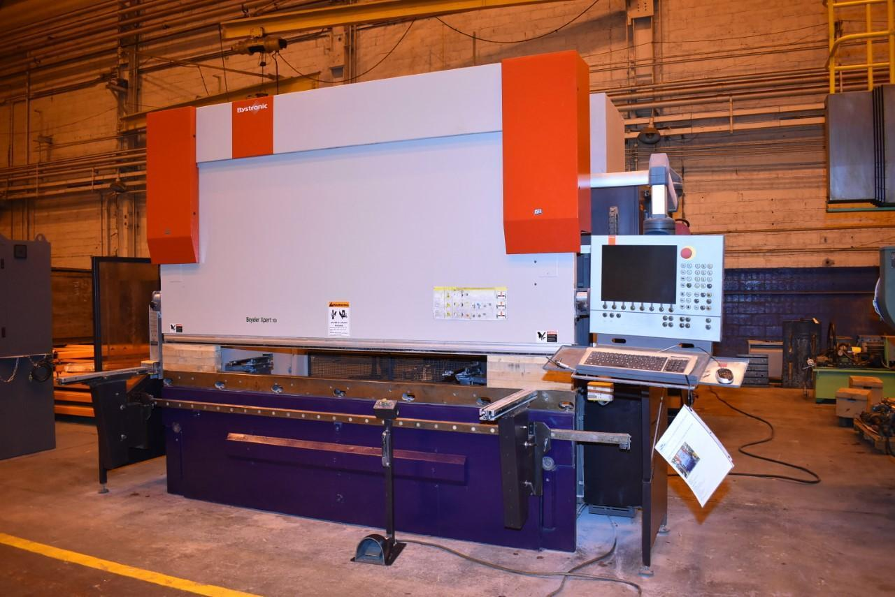 2008 Bystronic Xpert, 100x3100, 10' x 110 Ton, 9 Axis CNC Press Brake