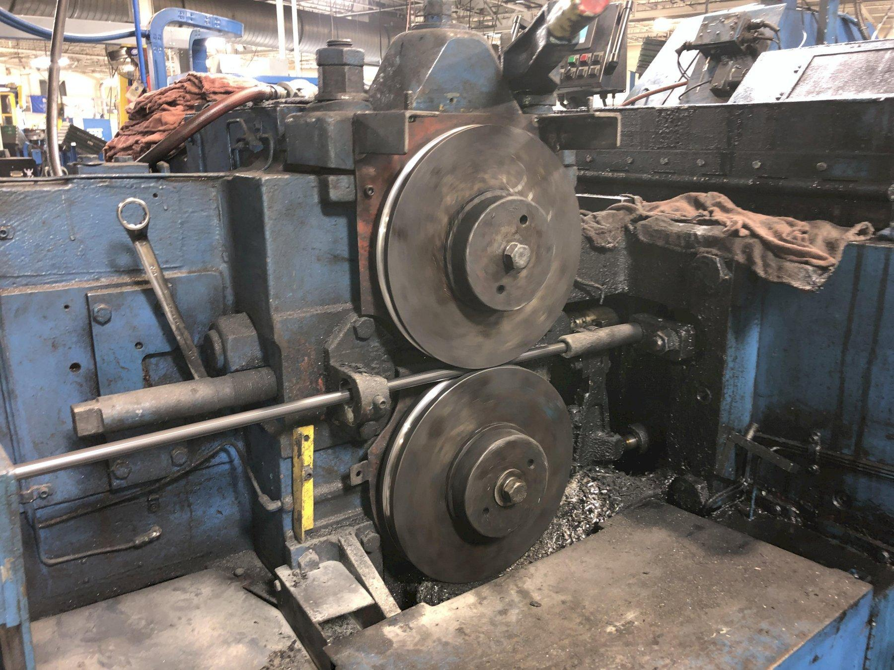 National Model 89 Two Die Three Blow Cold Header
