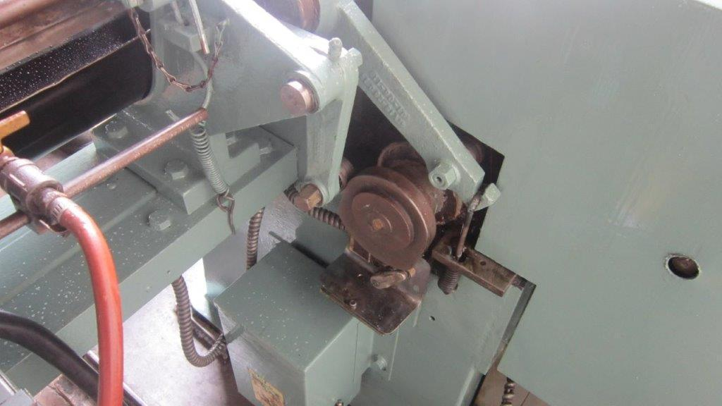 """1/8"""" Shuster 1V18 Wire Straighten & Cut Machine .035"""" - .125"""""""