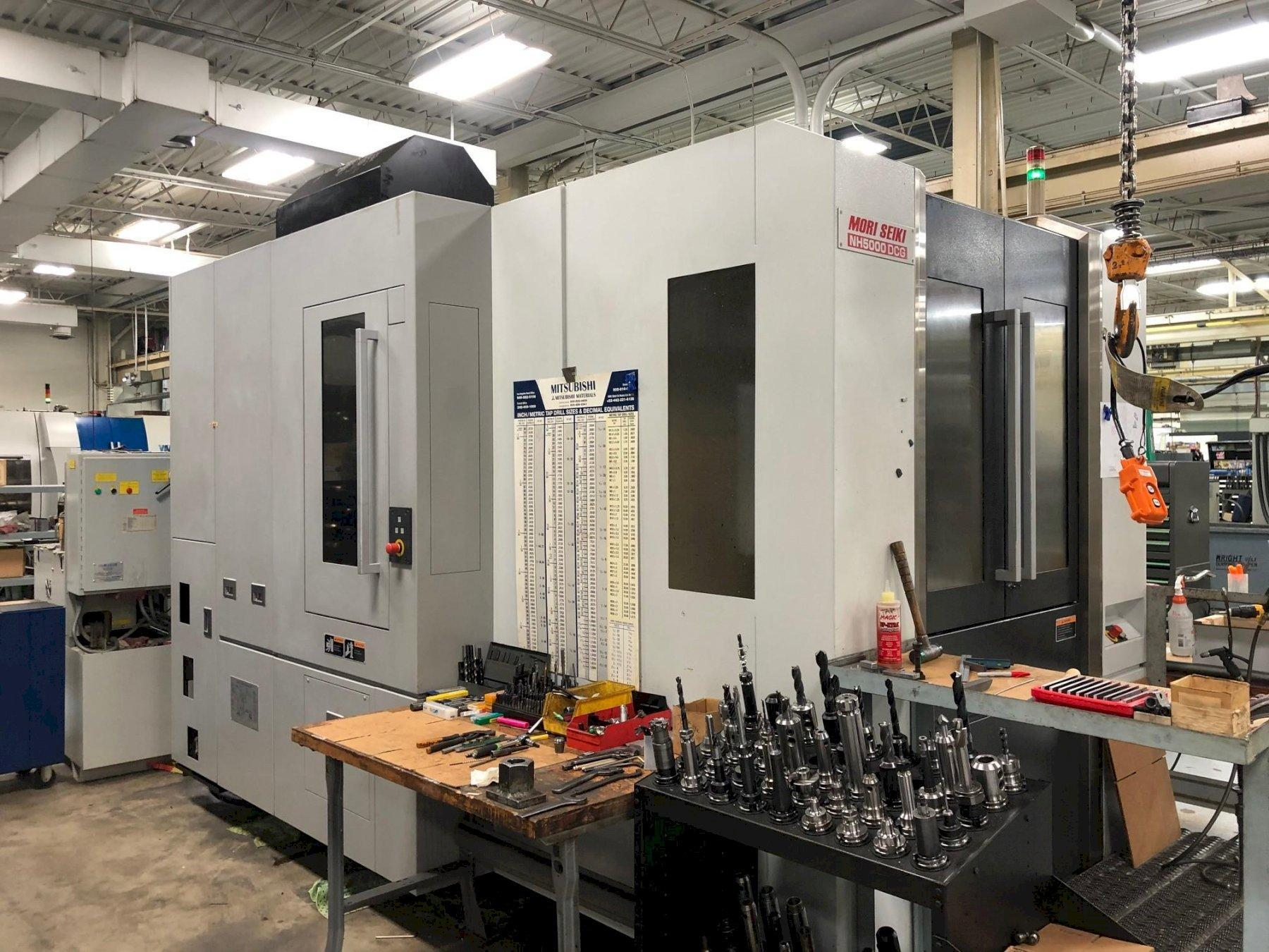 Mori Seiki NH-5000dcg CNC Horizontal Machining Center