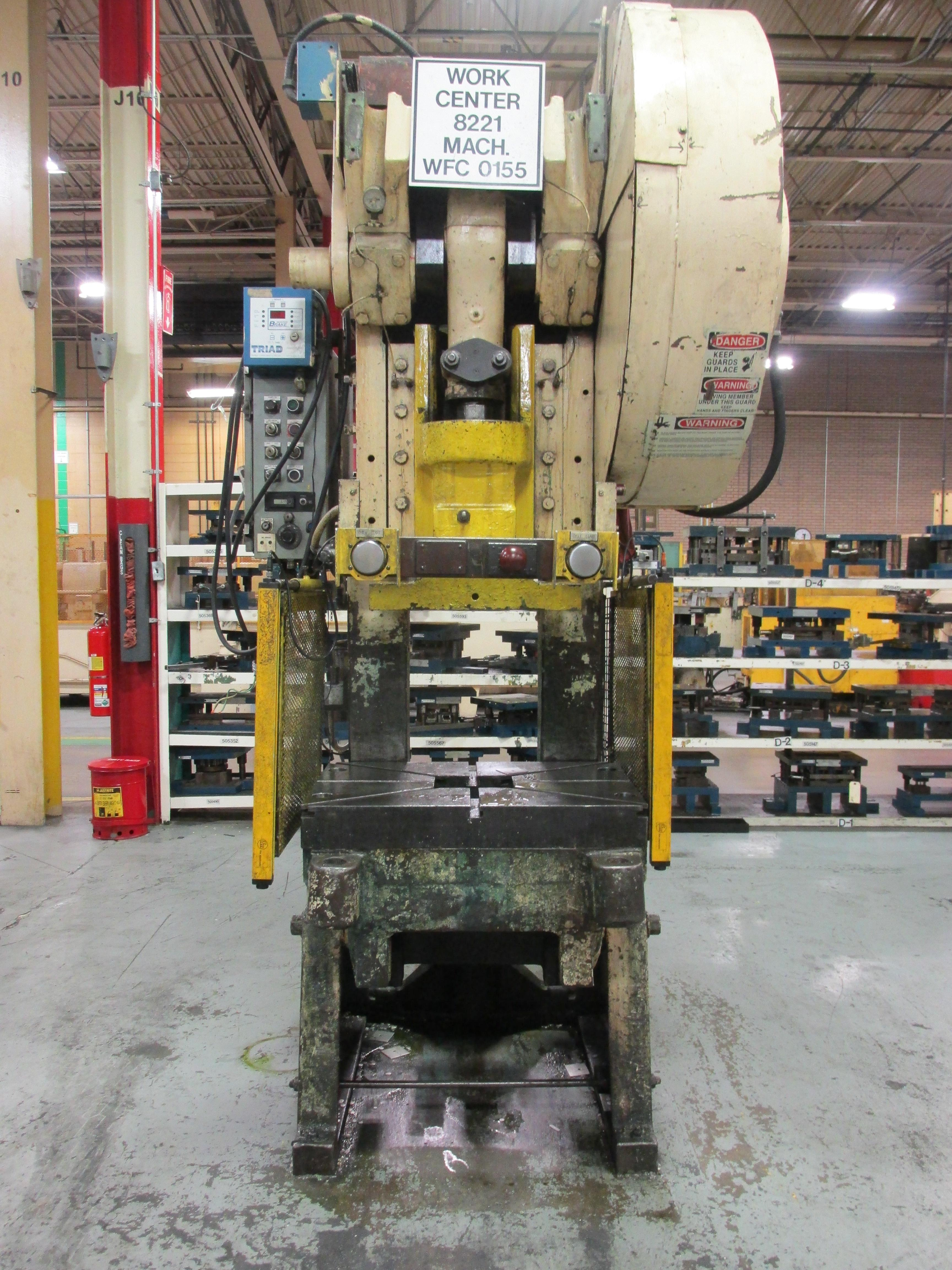 60 TON MINSTER MODEL #6 OBI PRESS: STOCK 10543