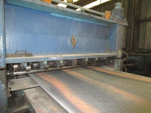"""72"""" x .500"""" x 60,000# Delta Brands Cut-To-Length Line"""