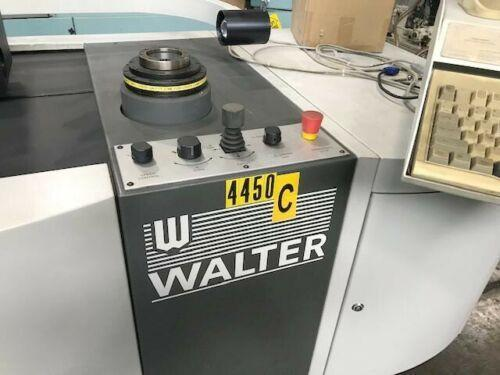 """WALTER HELI COMPUTERIZED TOOL PRESETTER, Model Toolcheck,  50 Taper Adapter, No Contact Optical Inspection, 12"""" Max Diameter, 20"""" Max Length, New 2002."""