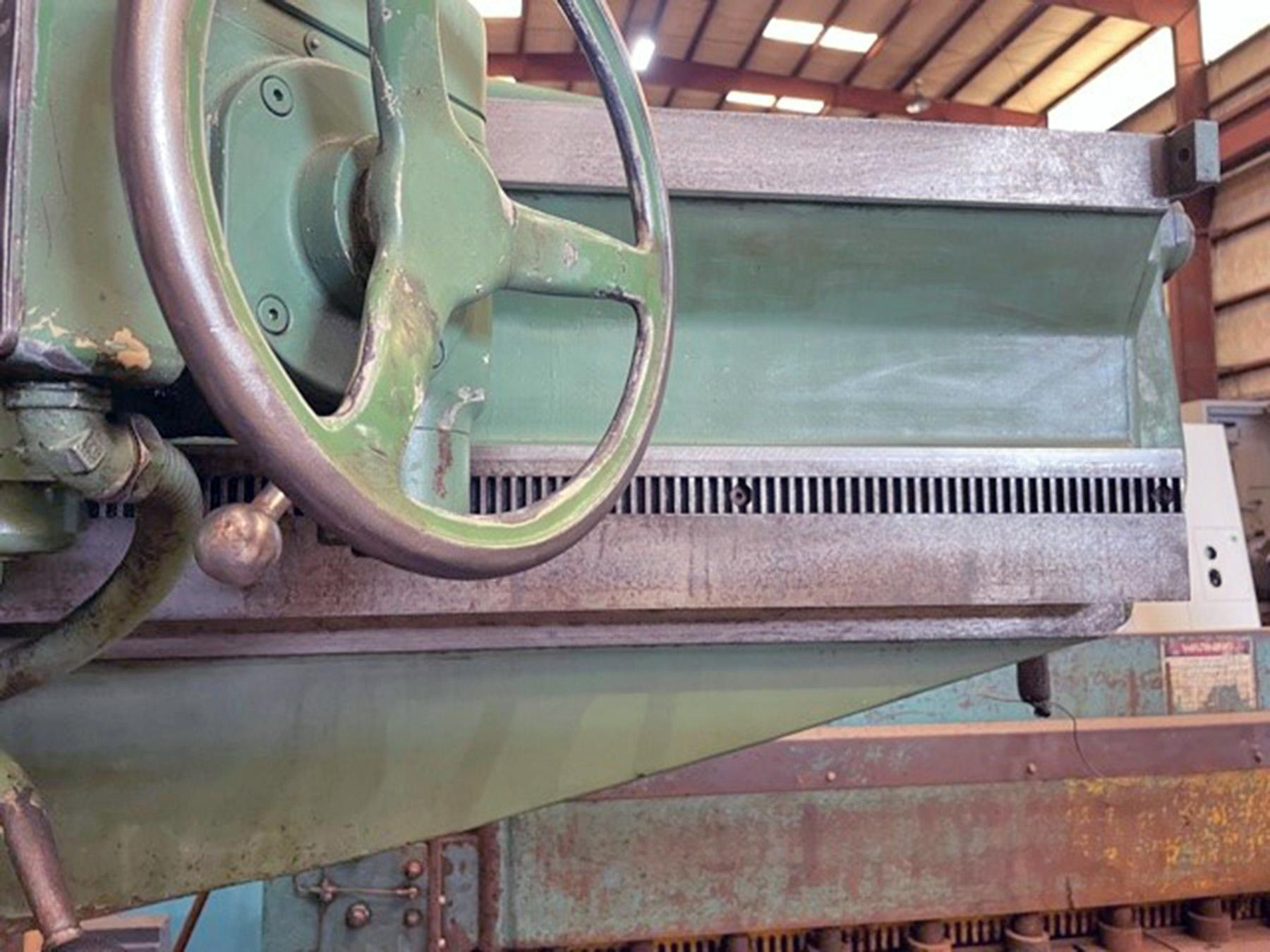 """USED, 6' 19"""" GIDDINGS & LEWIS BICKFORD CHIPMASTER RADIAL ARM DRILL"""