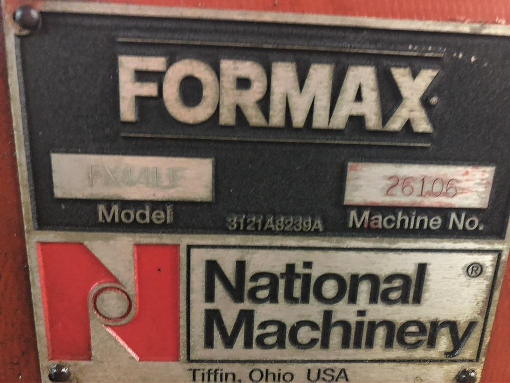 "1/2"" National FORMAX FX44-LF Pointing and Thread Rolling Machine"