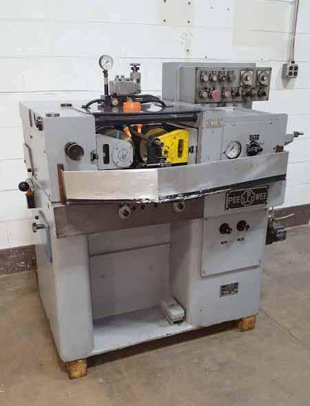 "2"" Pee-Wee Model P15.8U, 2-Die Horizontal Thread Rolling Machine"