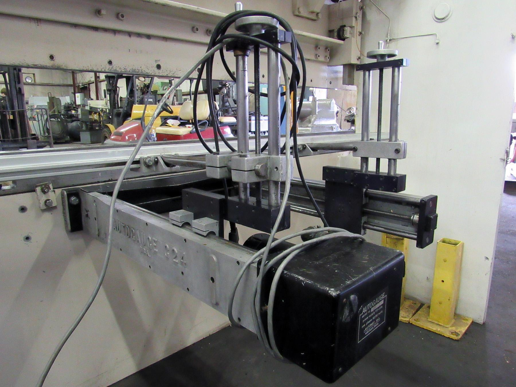 USED, 100 TON X 10' WYSONG MODEL MTH100-120 HYDRAULIC PRESS BRAKE
