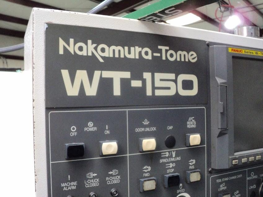 Nakamura Tome Model WT-150 MMYS CNC Lathe, New 2006 | Machine Tool