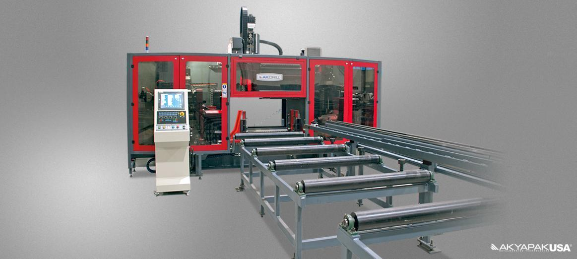 AKYAPAK 3 ADM ECO 7 Axis Three Spindle CNC Drill Line