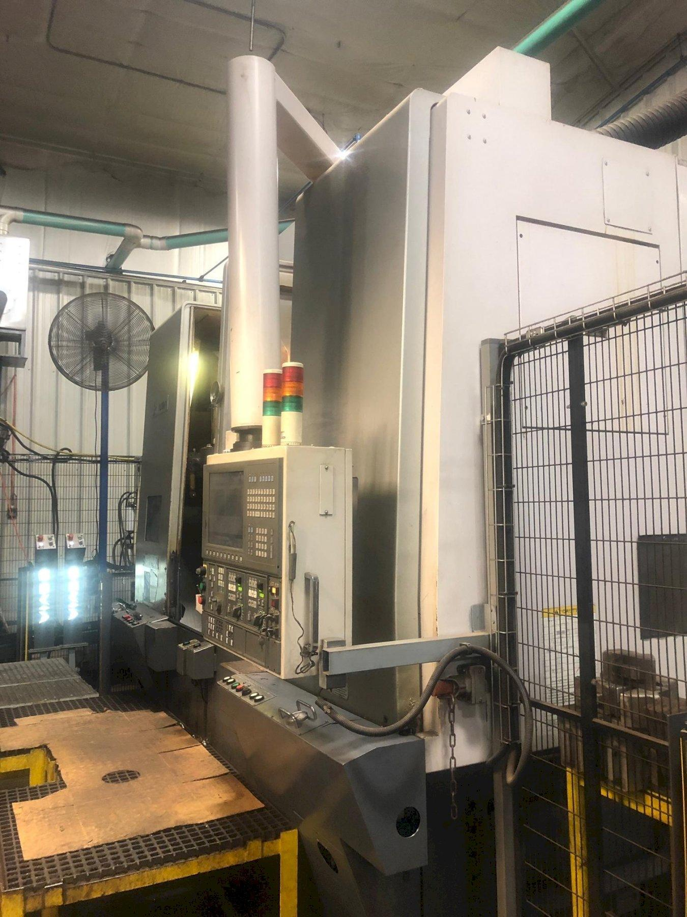 2008 Okuma 2SP-V60 - CNC Twin Spindle Vertical Turret Lathe