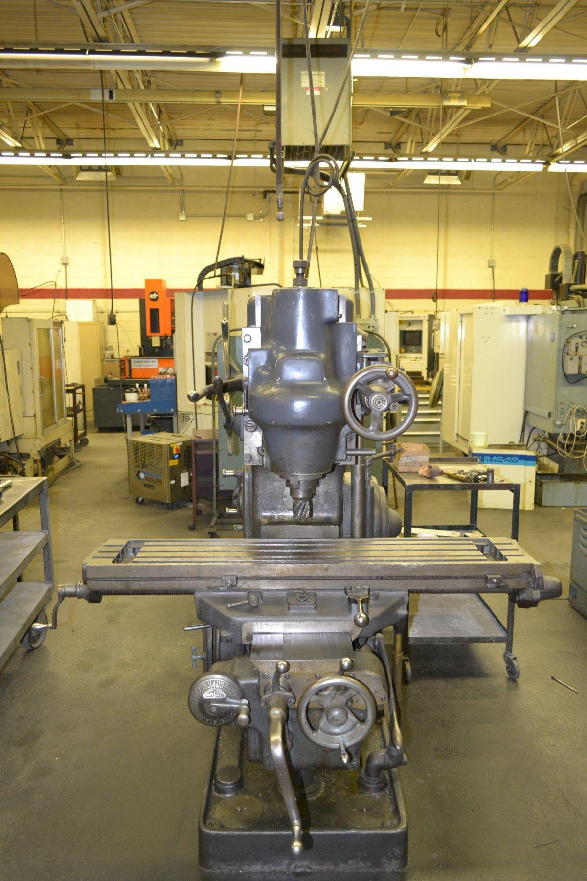 Kearney & Trecker Model 2H Vertical Mill