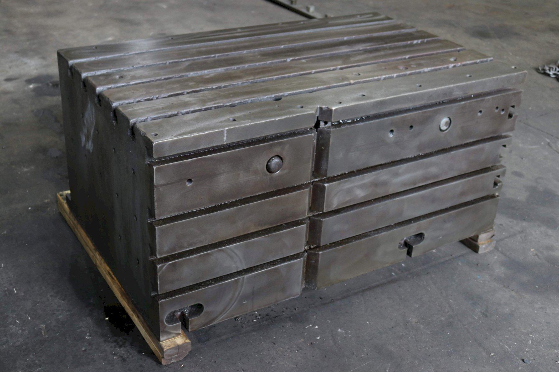 55' X 34' X 26' CUSTON BOX DRILL TABLE: STOCK #73239