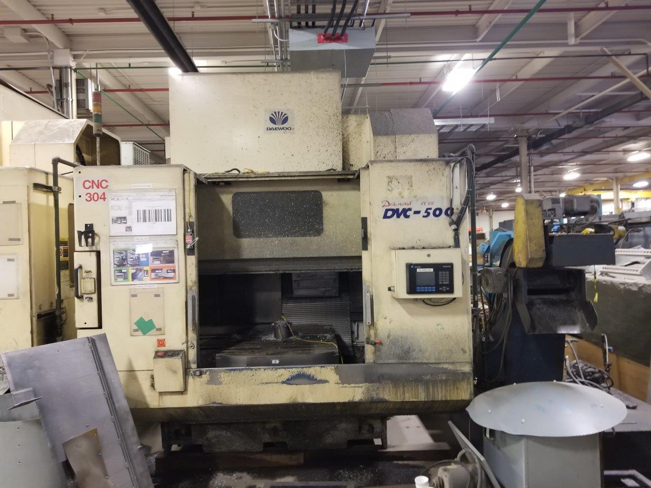 Daewoo DVC-500 Vertical Machining Center