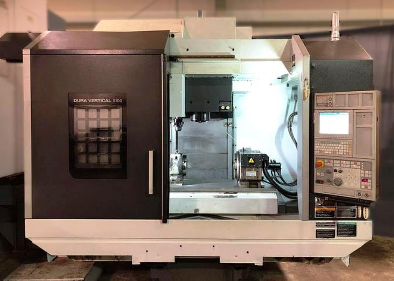 DMG MORI DURAVERTICAL 5100 4-AXIS VERTICAL MACHINING CENTER