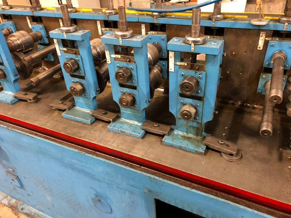 12 STAND DAHLSTROM ROLL FORMING LINE: STOCK #73178