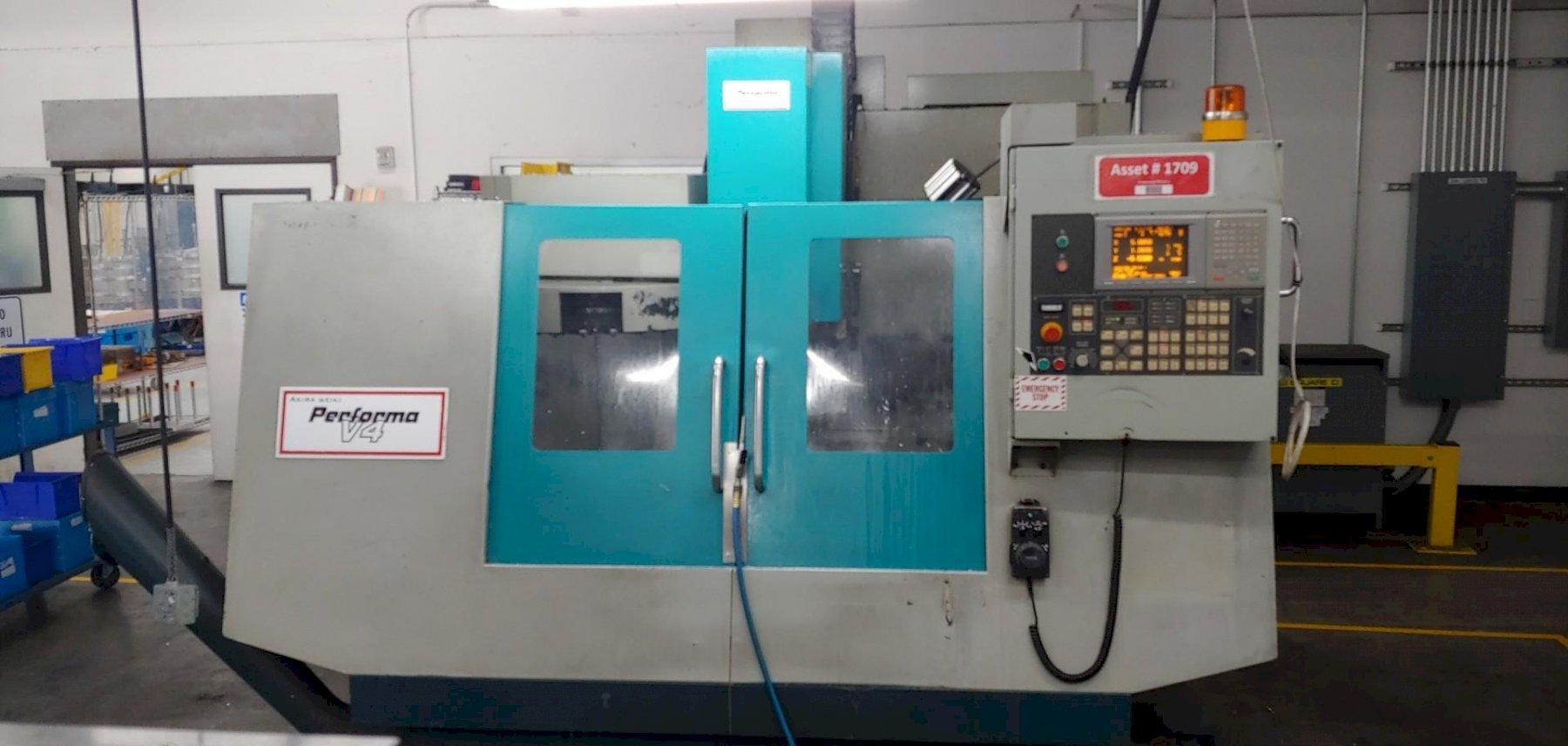 Akira Seiki V4C CNC Vertical Machining Center - New 2005
