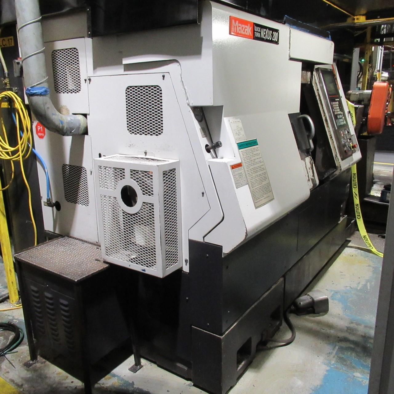Mazak QTN-200 Turning Center (Cutting only Aluminum)