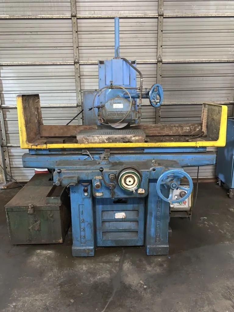 "12"" X 24"" DOALL ABRASIVE 1224 SURFACE GRINDER. STOCK # 0609320"