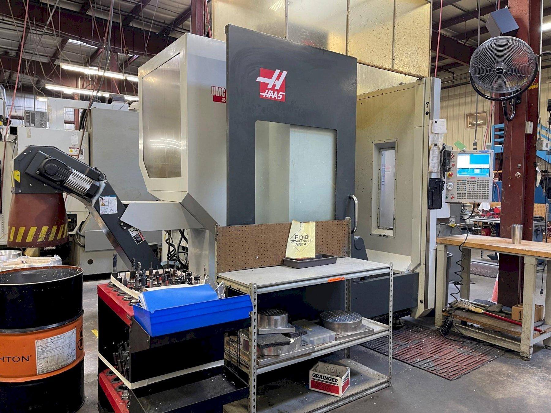 Haas UMC750 5 Axis Vertical Machining Center