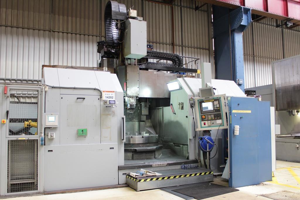 Webster & Bennett Revelation 160180 CNC Vertical Turning Centre (2007)