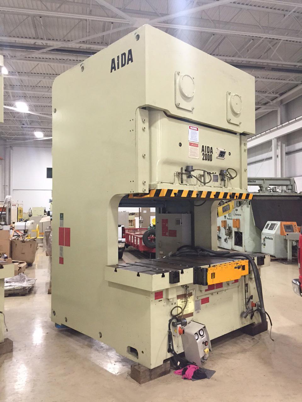 200 ton Aida Gap Press Model NC2-2000(2)E