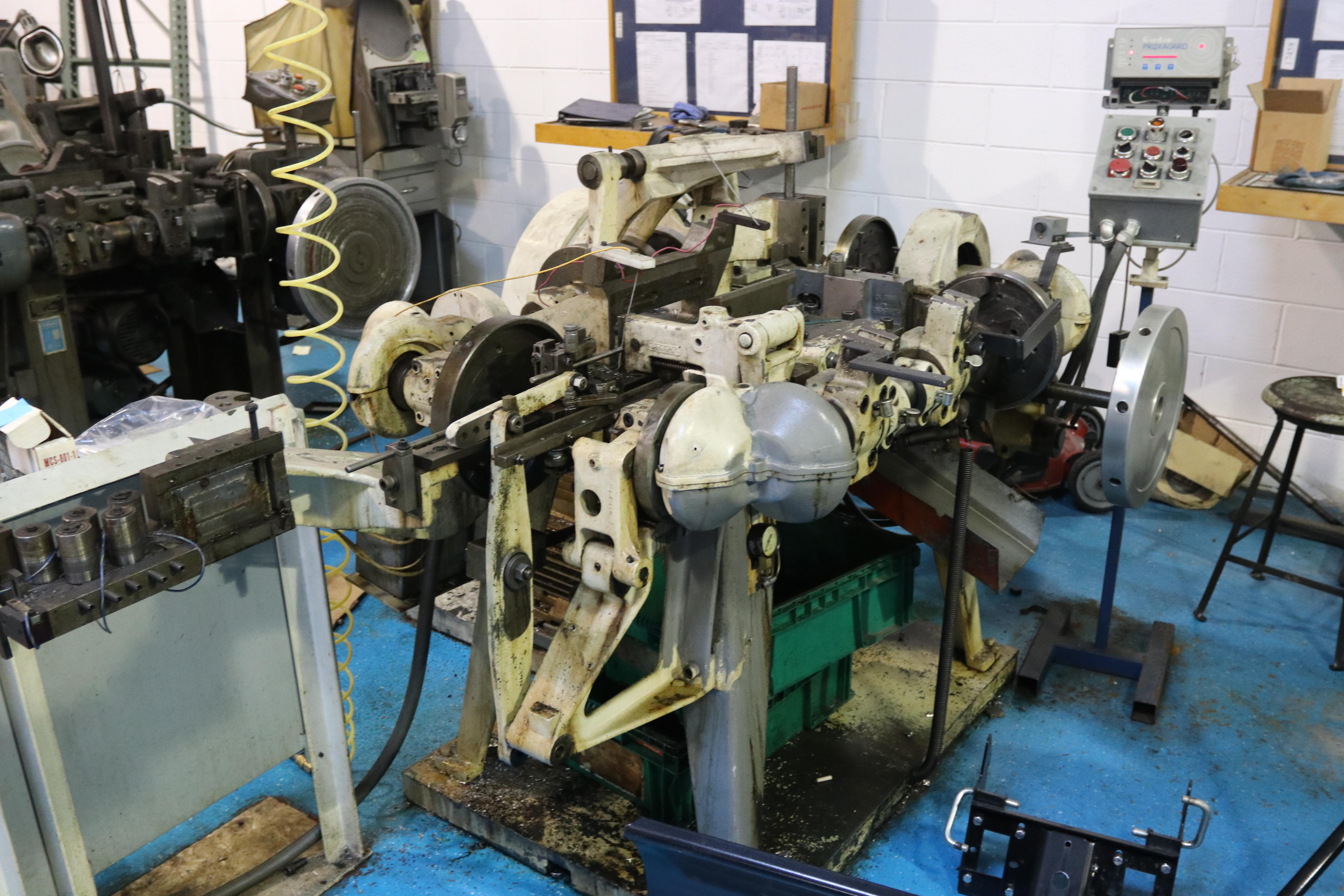 S2F NILSON FOUR SLIDE WIRE FORMING MACHINE: STOCK 10085