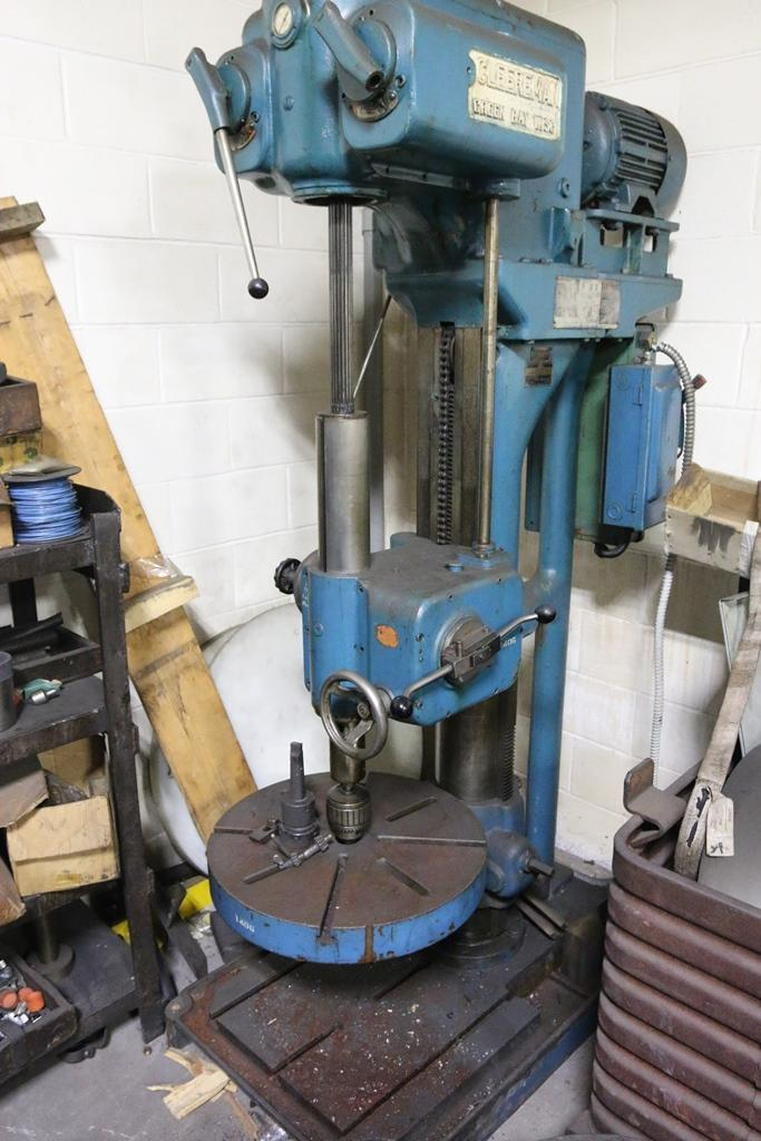 22' CLEEREMAN SINGLE SPINDLE DRILL: STOCK #70266