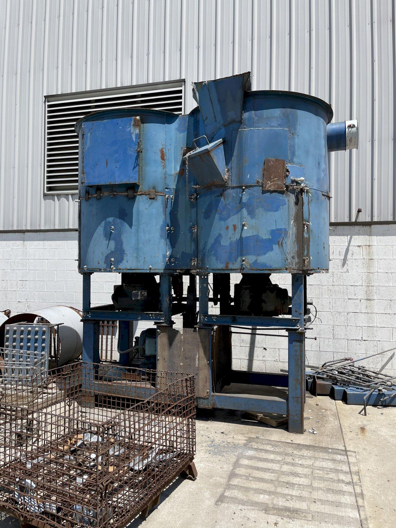 Simpson model 215 continuous sand muller with drive and gearboxes