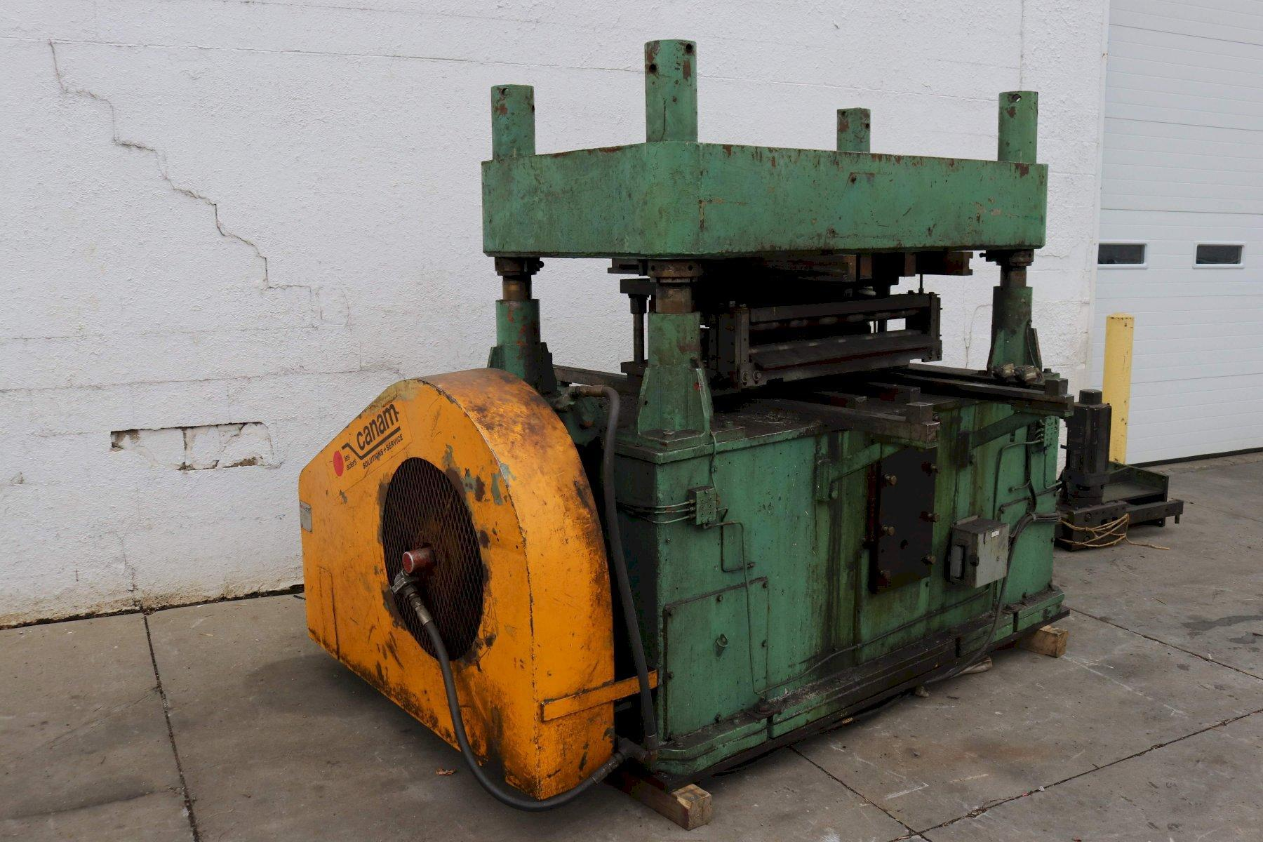125 TON B & K 4 POST CUT OFF PRESS: STOCK #73626