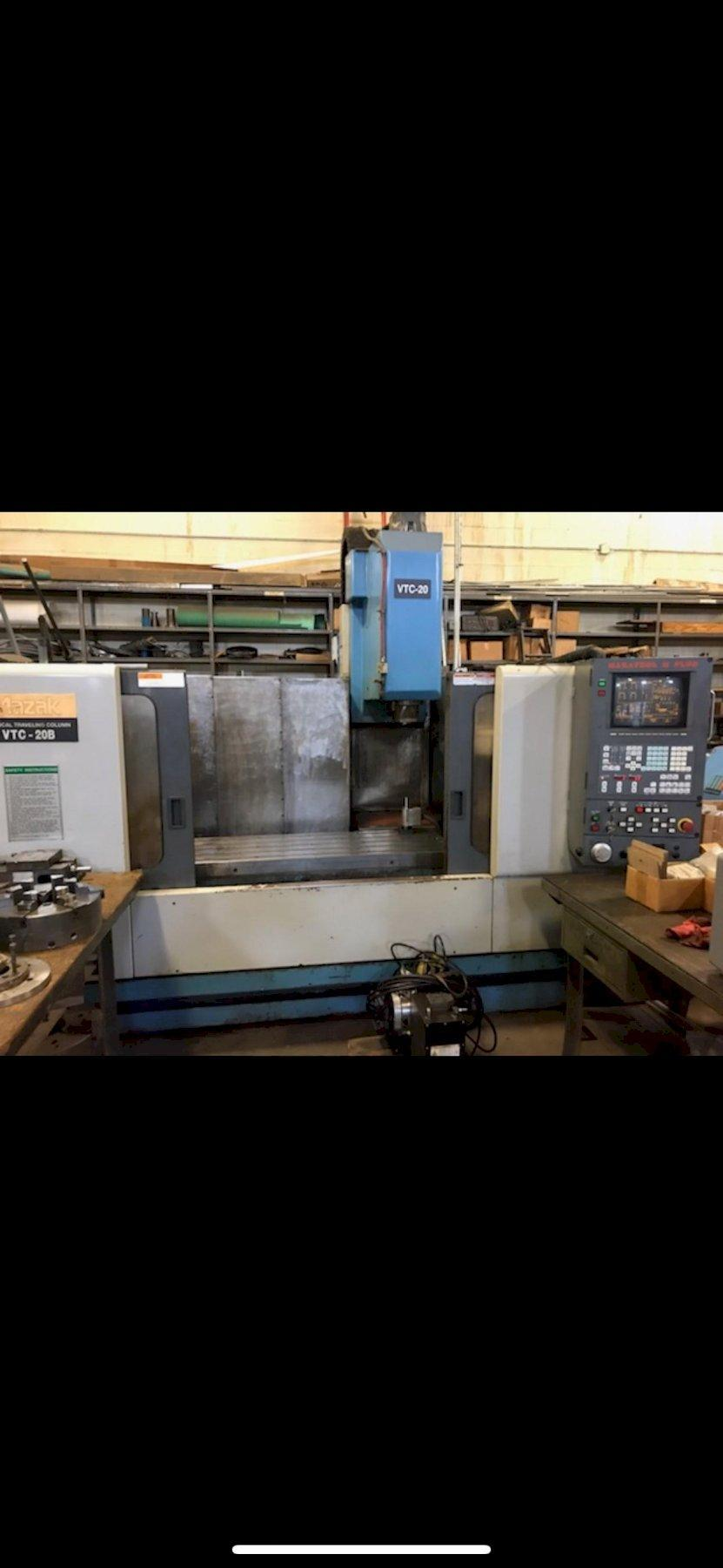MAZAK CNC VERTICAL MACHINING CENTER
