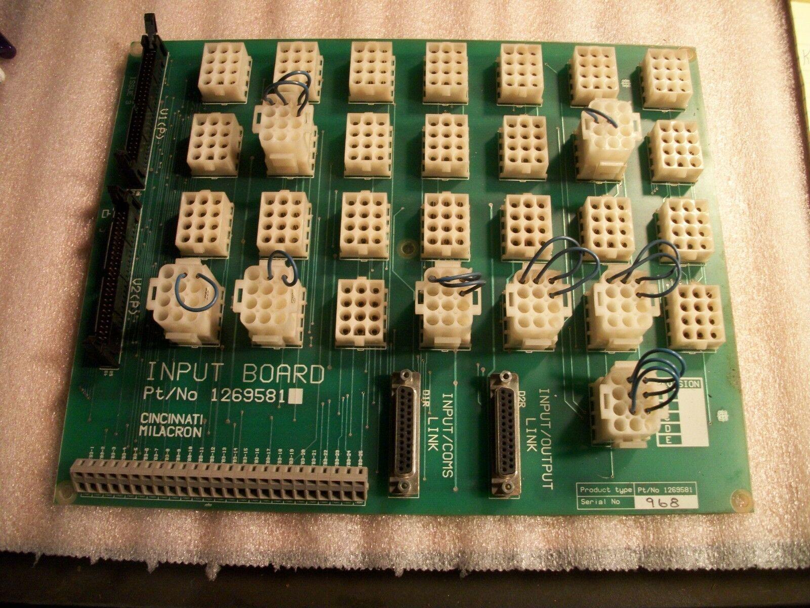 Cincinnati Siemens Acramatic 2100 CNC Control Input Board 1269581