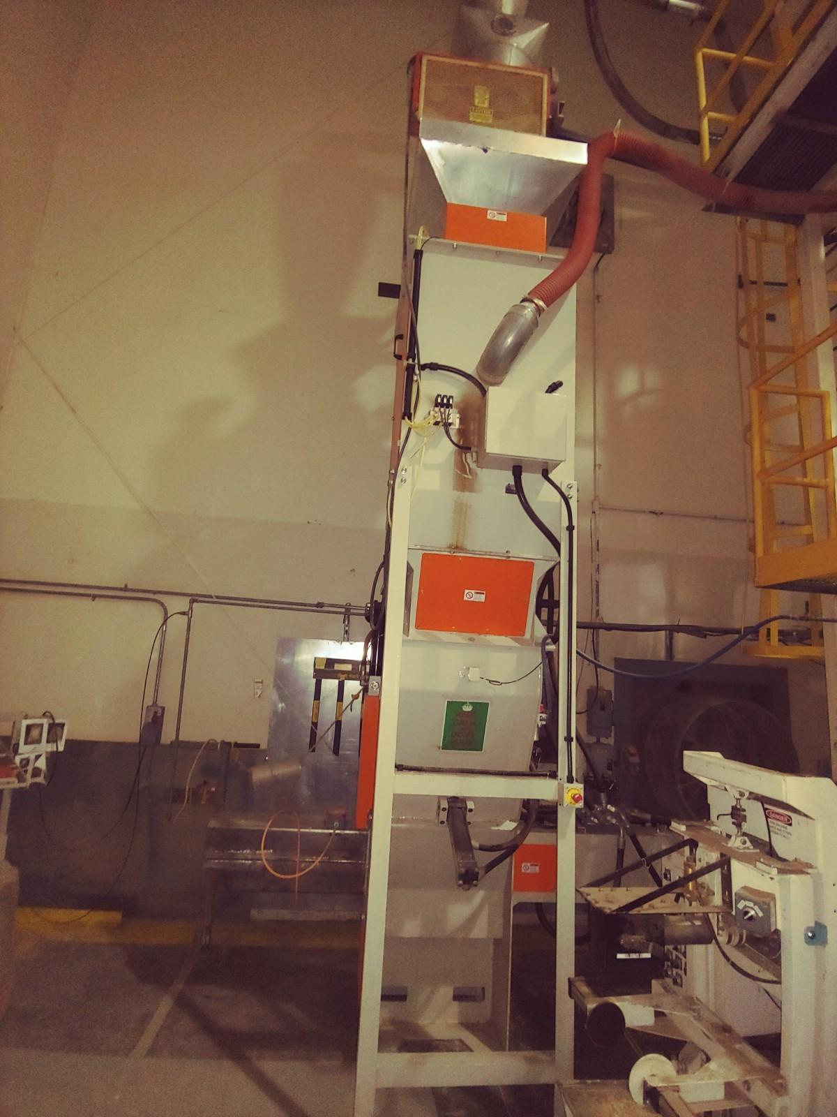 Rethceif Packaging BullyBagger Horizontal Compression Bagger 2017 with: Stand-Alone Heat Sealer and Pre-Weigh