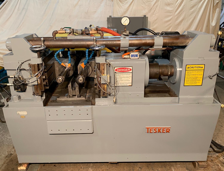 Tesker 630 Cylindrical Die Thread Roller