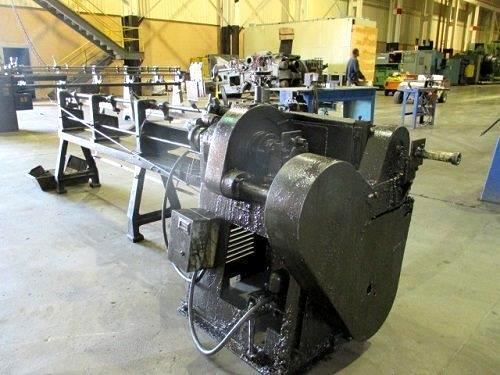 "1/4"" Lewis 2C4 Straighten And Cut Machine"