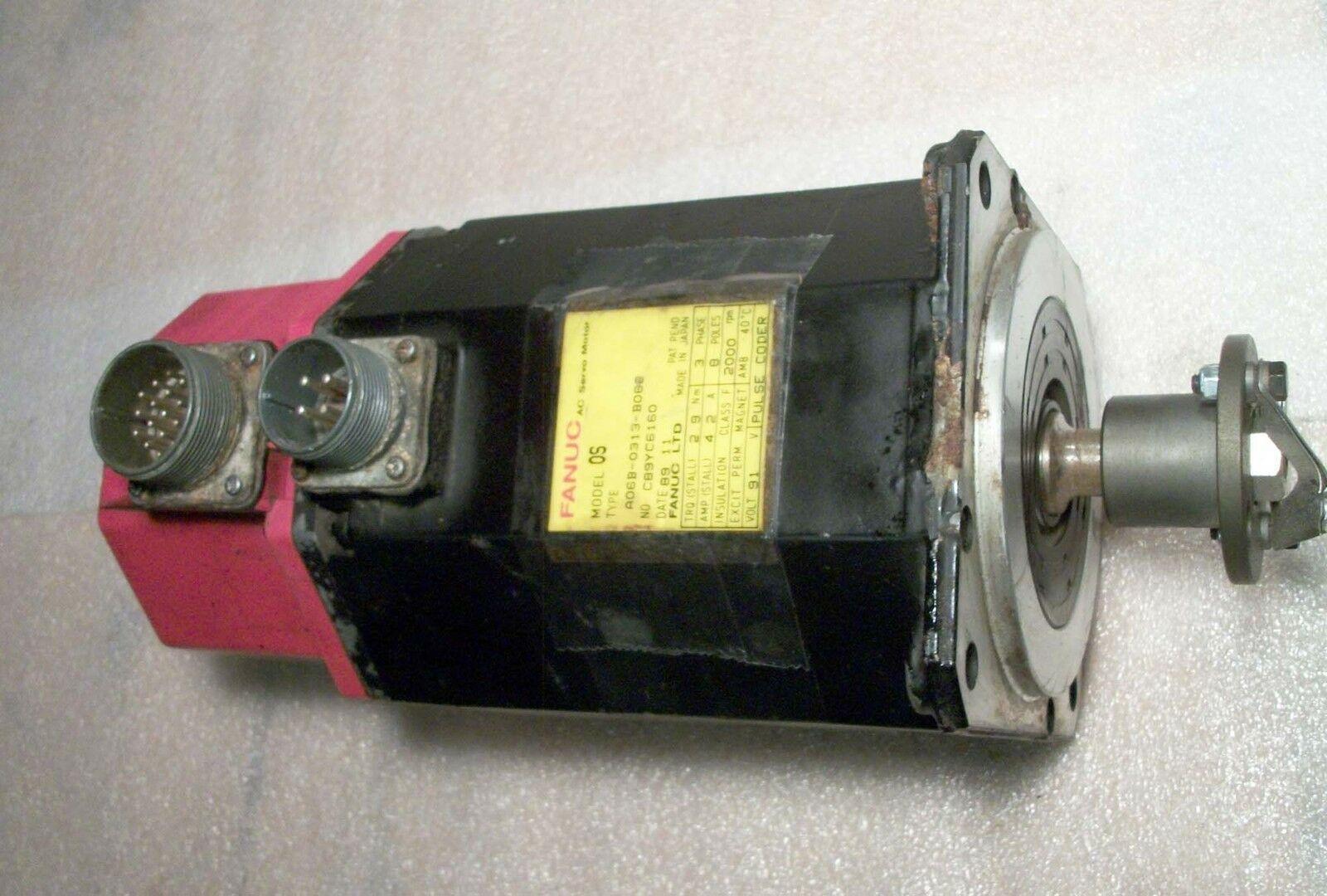 Fanuc Servo Motor Model OS A06B-0313-B082