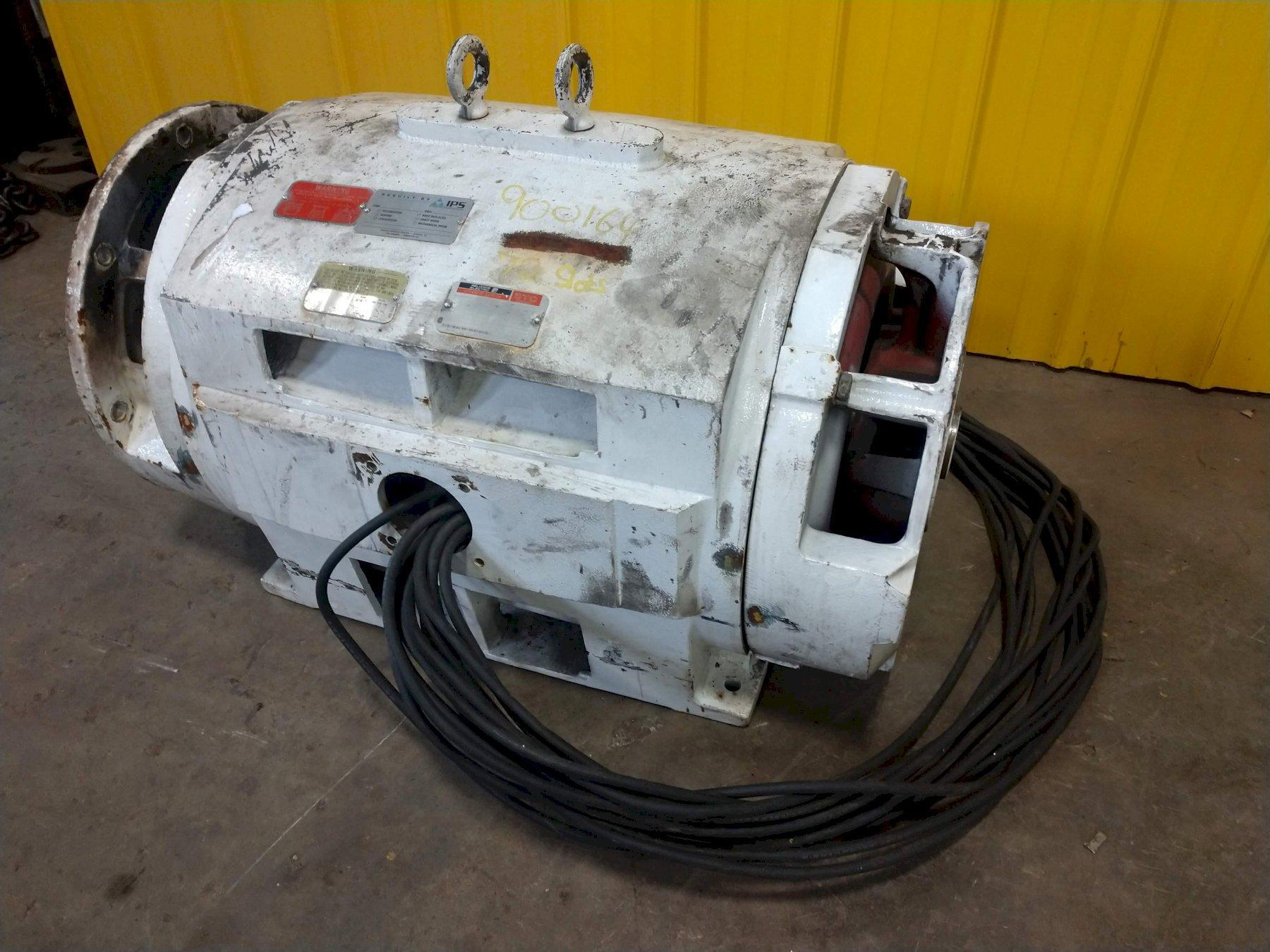 350 HP (REBUILT) RELIANCE ELECTRIC FRAME 449TDZ DUTY MASTER AC MOTOR: STOCK #13547
