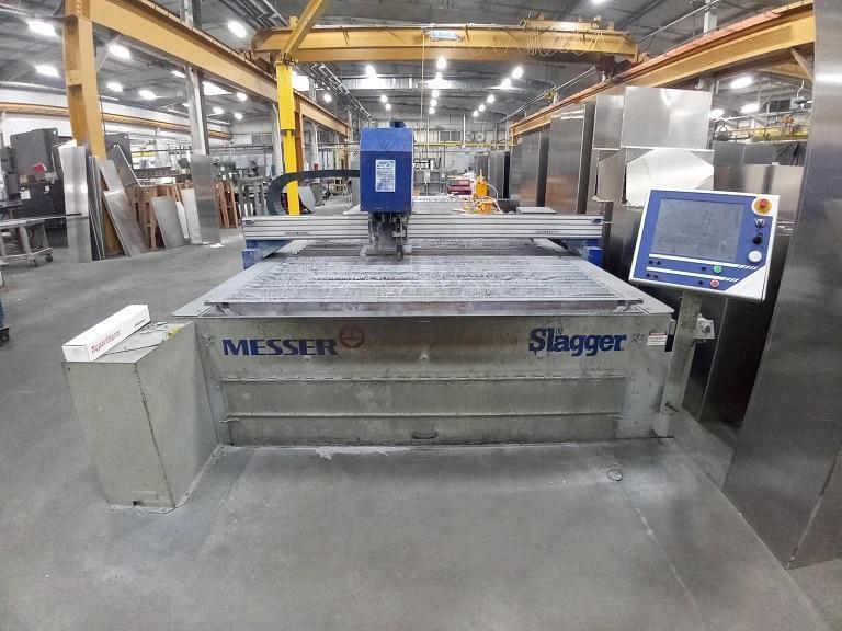 2009 Messer MMPlus, 8' x 25' High Definition CNC Plasma System