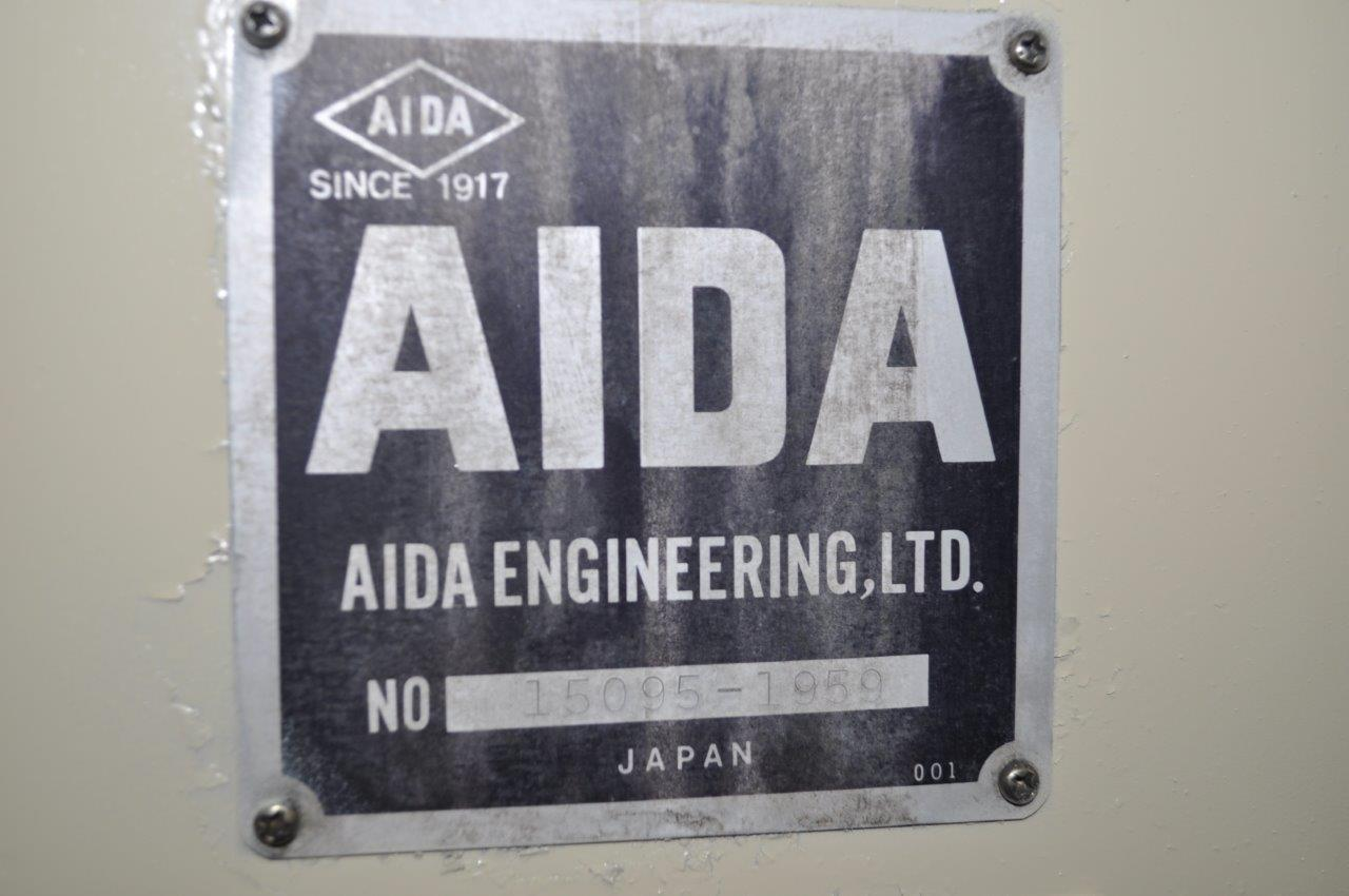 "3000 LB  x 12"" Aida Uncoiler Straightener Combo"