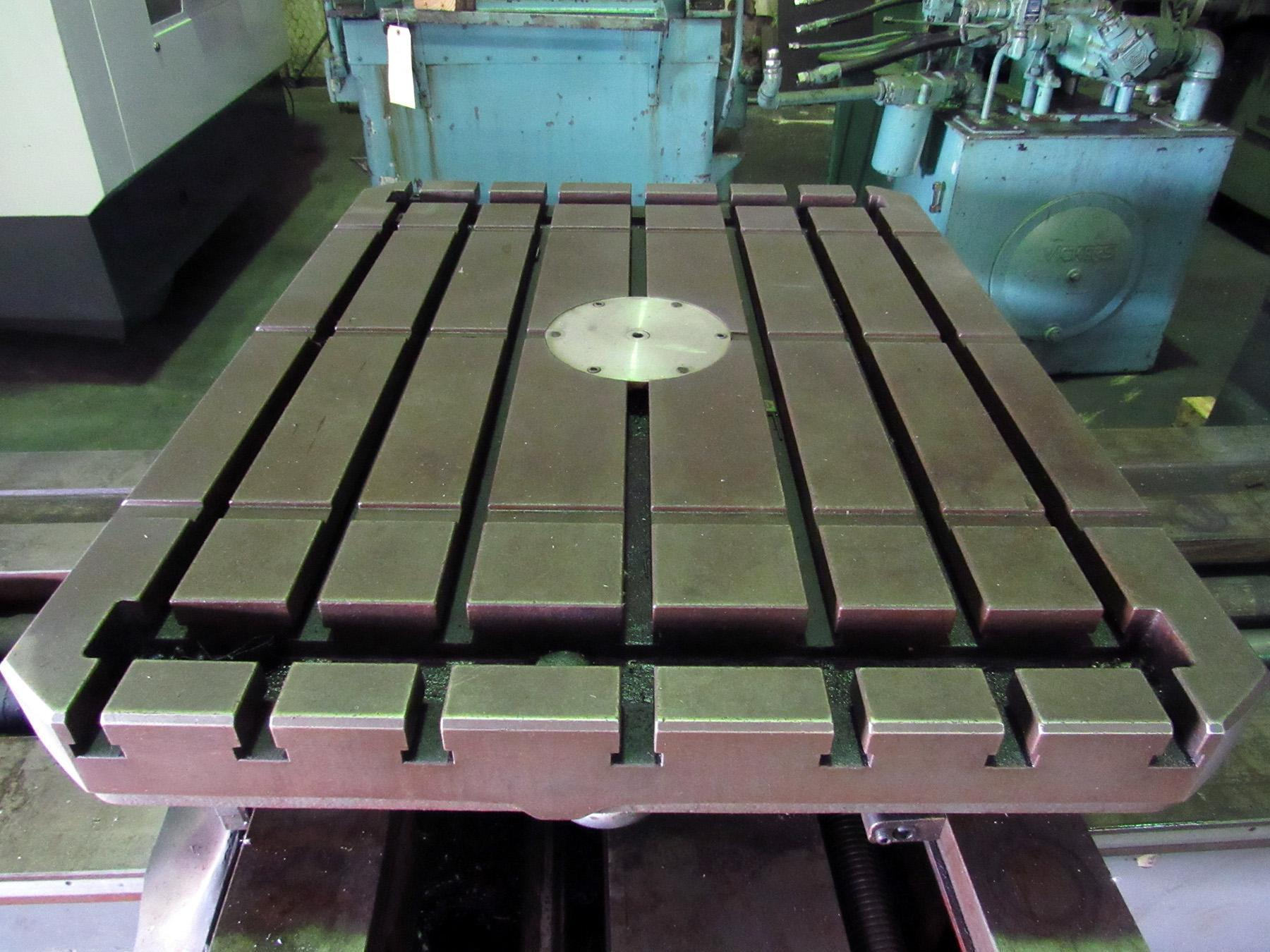 "USED, 3"" IKEGAI MODEL A-075T TABLE TYPE HORIZONTAL BORING MILL"