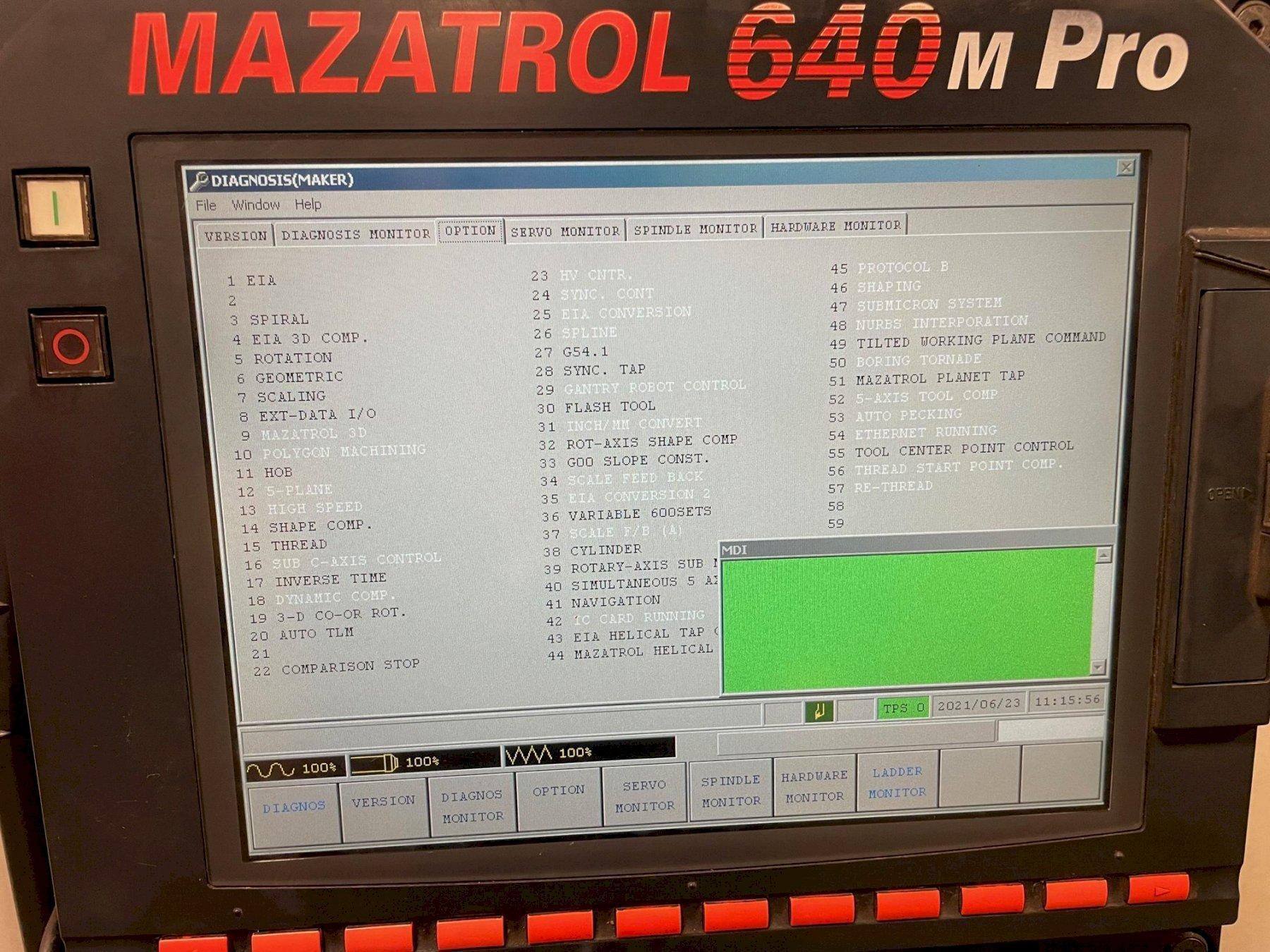 2006 Mazak Integrex e500H/3000 CNC Horizontal Lathe