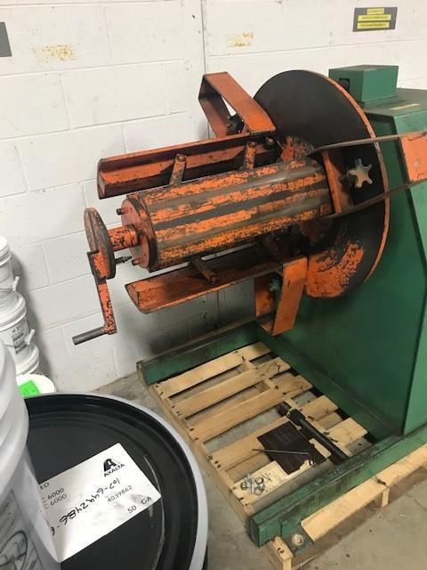 4,000 lb Coe CPR-4018 Uncoiler