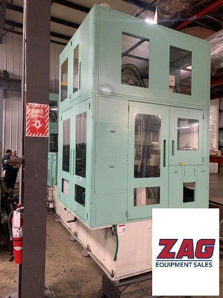 Aoki Used SBIII-250LL-75S Injection Stretch Blow Molding Machine, 250 ton, 460V, Yr. 2016