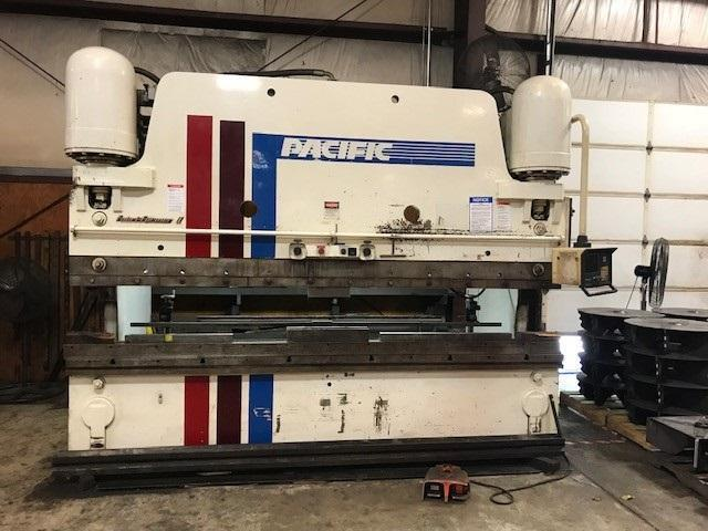 350 Ton x 12 ft Pacific Hydraulic Press Brake Model FF350-12 Series 1