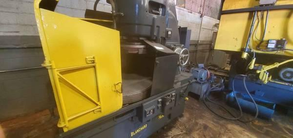 """42"""" BLANCHARD 18-42 ROTARY SURFACE GRINDER. STOCK # 0104321"""